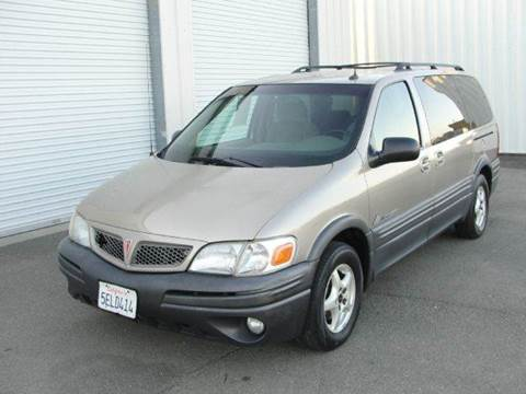 2003 Pontiac Montana for sale at PRICE TIME AUTO SALES in Sacramento CA