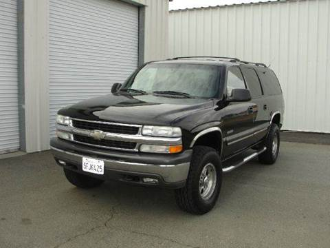 2000 Chevrolet Suburban for sale at PRICE TIME AUTO SALES in Sacramento CA