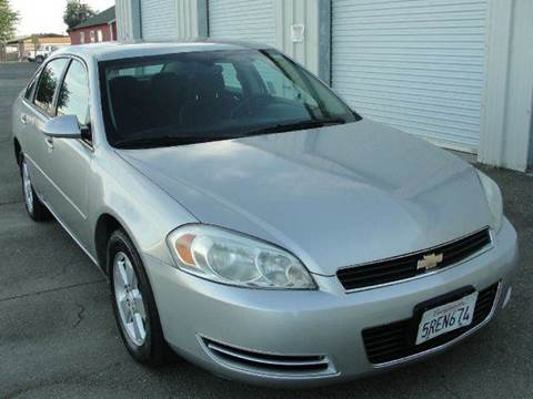 2006 Chevrolet Impala for sale at PRICE TIME AUTO SALES in Sacramento CA