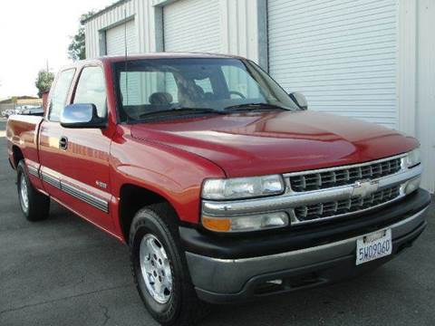 1999 Chevrolet Silverado 1500 for sale at PRICE TIME AUTO SALES in Sacramento CA