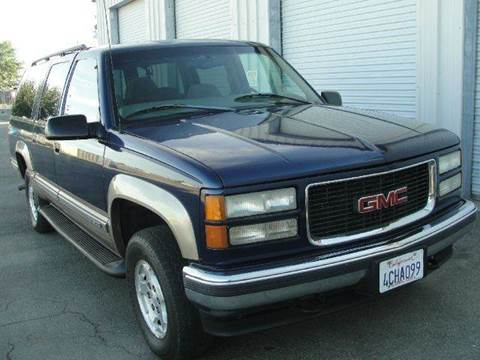 1998 GMC Suburban for sale at PRICE TIME AUTO SALES in Sacramento CA