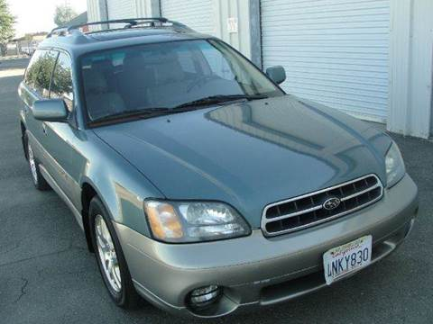 2001 Subaru Legacy for sale at PRICE TIME AUTO SALES in Sacramento CA