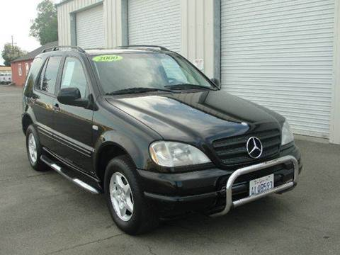 2000 Mercedes-Benz ML320 for sale at PRICE TIME AUTO SALES in Sacramento CA