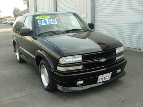 2001 Chevrolet Blazer for sale at PRICE TIME AUTO SALES in Sacramento CA
