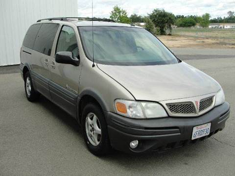 2002 Pontiac Montana for sale at PRICE TIME AUTO SALES in Sacramento CA