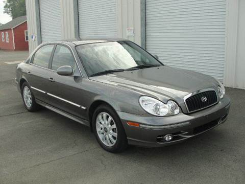 2004 Hyundai Sonata for sale at PRICE TIME AUTO SALES in Sacramento CA