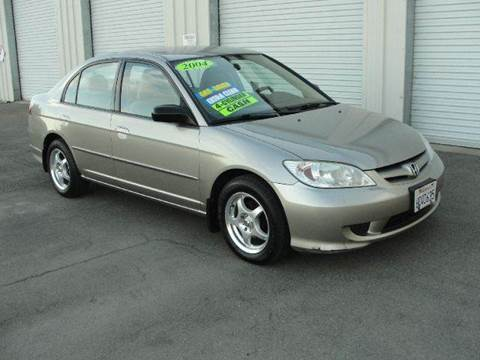 2004 Honda Civic for sale at PRICE TIME AUTO SALES in Sacramento CA