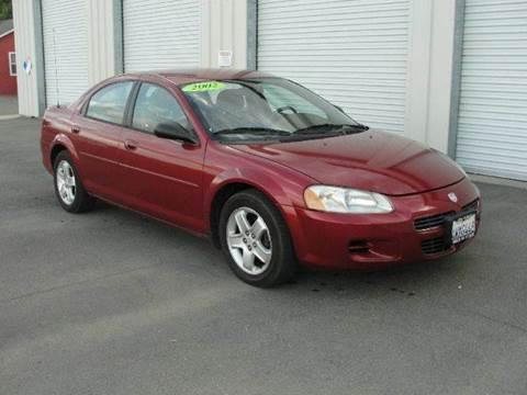 2002 Dodge Stratus for sale at PRICE TIME AUTO SALES in Sacramento CA