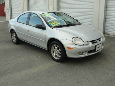 2002 Dodge Neon for sale at PRICE TIME AUTO SALES in Sacramento CA