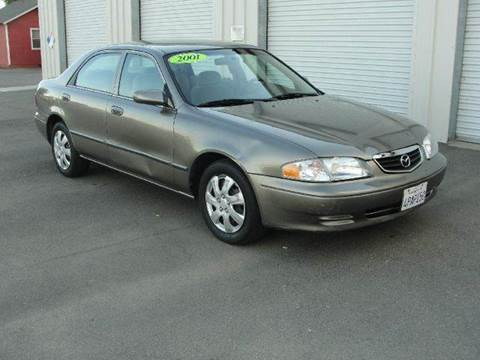 2001 Mazda 626 for sale at PRICE TIME AUTO SALES in Sacramento CA