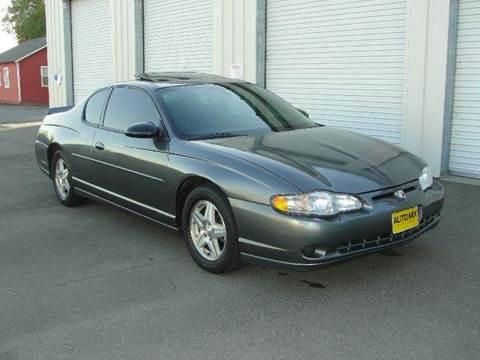 2004 Chevrolet Monte Carlo for sale at PRICE TIME AUTO SALES in Sacramento CA