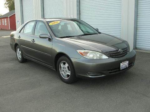 2002 Toyota Camry for sale at PRICE TIME AUTO SALES in Sacramento CA