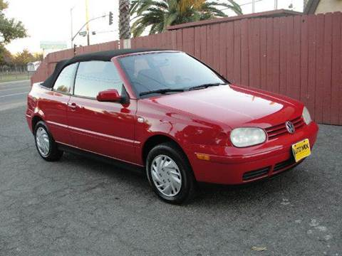2001 Volkswagen Cabrio for sale at PRICE TIME AUTO SALES in Sacramento CA