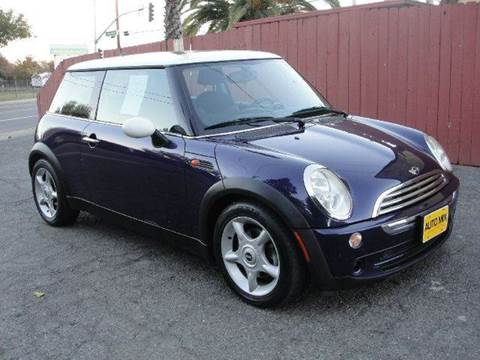 2005 MINI Cooper for sale at PRICE TIME AUTO SALES in Sacramento CA