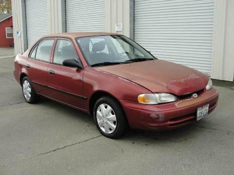 2002 Chevrolet Prizm for sale at PRICE TIME AUTO SALES in Sacramento CA