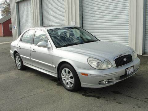 2002 Hyundai Sonata for sale at PRICE TIME AUTO SALES in Sacramento CA