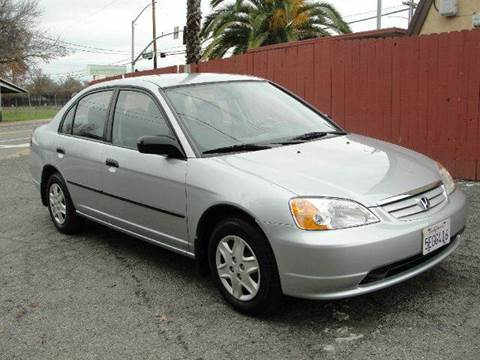 2003 Honda Civic for sale at PRICE TIME AUTO SALES in Sacramento CA