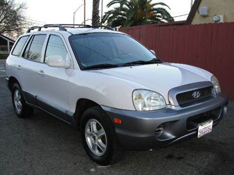 2004 Hyundai Santa Fe for sale at PRICE TIME AUTO SALES in Sacramento CA