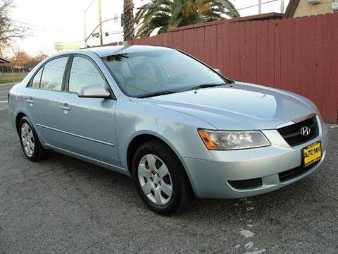 2008 Hyundai Sonata for sale at PRICE TIME AUTO SALES in Sacramento CA