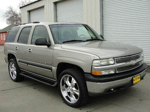 2003 Chevrolet Tahoe for sale at PRICE TIME AUTO SALES in Sacramento CA