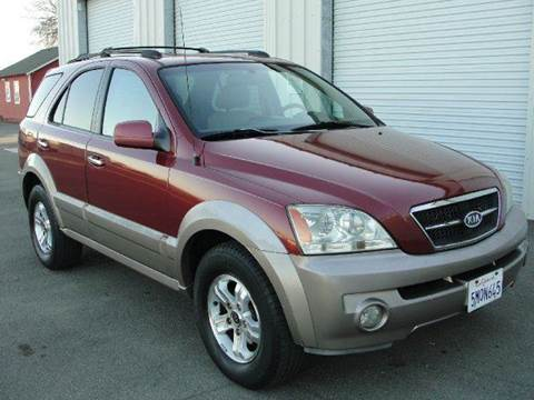 2003 Kia Sorento for sale at PRICE TIME AUTO SALES in Sacramento CA