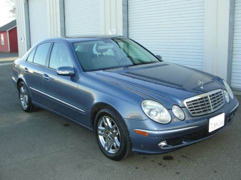 2006 Mercedes-Benz E-Class for sale at PRICE TIME AUTO SALES in Sacramento CA