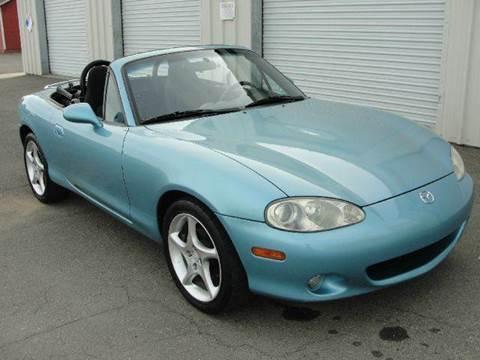 2001 Mazda MX-5 Miata for sale at PRICE TIME AUTO SALES in Sacramento CA