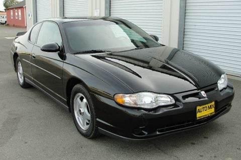 2002 Chevrolet Monte Carlo for sale at PRICE TIME AUTO SALES in Sacramento CA