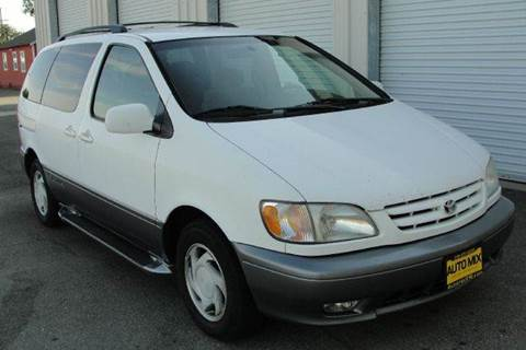 2001 Toyota Sienna for sale at PRICE TIME AUTO SALES in Sacramento CA