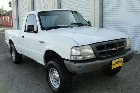 2000 Ford Ranger for sale at PRICE TIME AUTO SALES in Sacramento CA