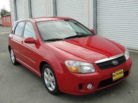 2007 Kia Spectra for sale at PRICE TIME AUTO SALES in Sacramento CA