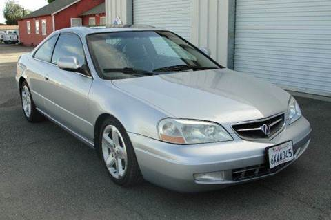 2001 Acura CL for sale at PRICE TIME AUTO SALES in Sacramento CA