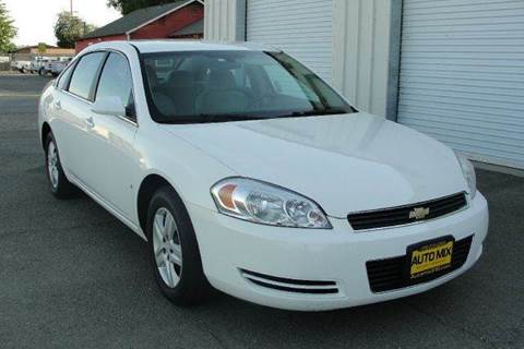 2008 Chevrolet Impala for sale at PRICE TIME AUTO SALES in Sacramento CA