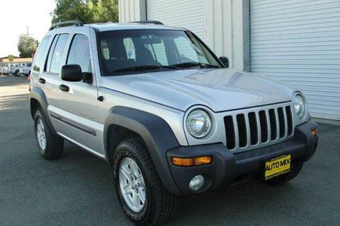 2002 Jeep Liberty for sale at PRICE TIME AUTO SALES in Sacramento CA