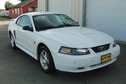 2004 Ford Mustang for sale at PRICE TIME AUTO SALES in Sacramento CA