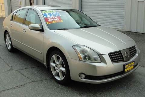 2004 Nissan Maxima for sale at PRICE TIME AUTO SALES in Sacramento CA