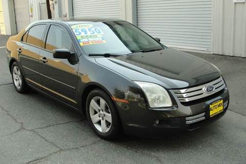 2006 Ford Fusion for sale at PRICE TIME AUTO SALES in Sacramento CA