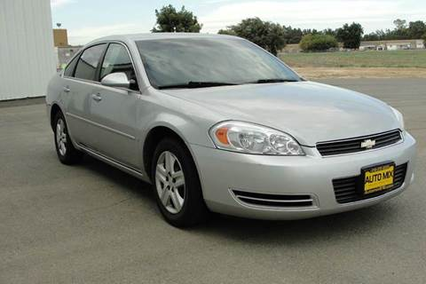 2007 Chevrolet Impala for sale at PRICE TIME AUTO SALES in Sacramento CA