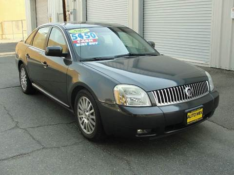 2007 Mercury Montego for sale at PRICE TIME AUTO SALES in Sacramento CA