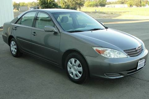 2003 Toyota Camry for sale at PRICE TIME AUTO SALES in Sacramento CA