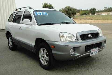 2003 Hyundai Santa Fe for sale at PRICE TIME AUTO SALES in Sacramento CA