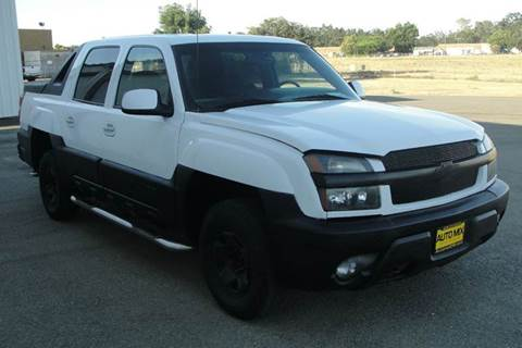 2002 Chevrolet Avalanche for sale at PRICE TIME AUTO SALES in Sacramento CA