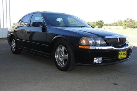 2001 Lincoln LS for sale at PRICE TIME AUTO SALES in Sacramento CA