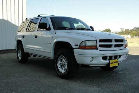 1999 Dodge Durango for sale at PRICE TIME AUTO SALES in Sacramento CA