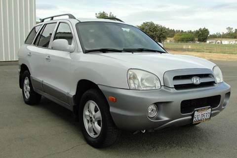 2005 Hyundai Santa Fe for sale at PRICE TIME AUTO SALES in Sacramento CA
