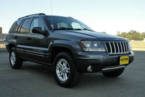 2004 Jeep Grand Cherokee for sale at PRICE TIME AUTO SALES in Sacramento CA