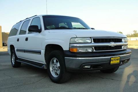 2003 Chevrolet Suburban for sale at PRICE TIME AUTO SALES in Sacramento CA
