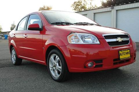 2009 Chevrolet Aveo for sale at PRICE TIME AUTO SALES in Sacramento CA