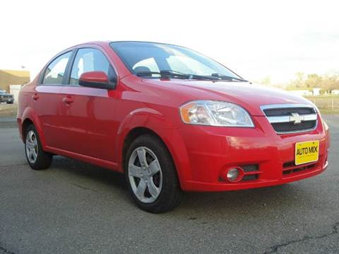 2011 Chevrolet Aveo for sale at PRICE TIME AUTO SALES in Sacramento CA