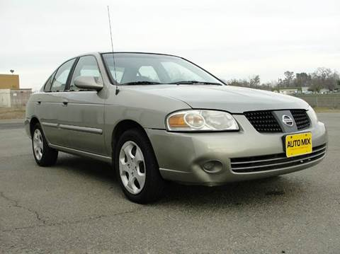 2004 Nissan Sentra for sale at PRICE TIME AUTO SALES in Sacramento CA
